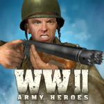 World War 2 Frontline Heroes: WW2 Commando Shooter 1.2.3 (Mod)