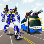 Bus Robot Car Transform War– Spaceship Robot game  (Mod) 4.4