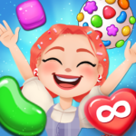 Candy Go Round 1 Free Candy Puzzle Match 3 Game  (Mod) 1.10.0