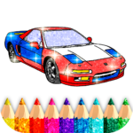 Car Coloring Game offline🚗  (Mod) 1.7