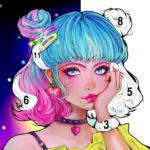 Sweet Coloring Color by Number Painting Game  (Mod) 1.0.19