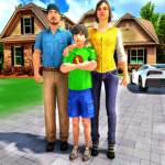 Happy Family Life Dad Mom – Virtual Housewife Care  (Mod) 1.1