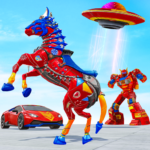 Horse Robot Car Game – Space Robot Transform wars  (Mod) 1.1.1