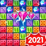 Jewel Games 2020 – Dice Merge Jewels & Gems Crush  (Mod) 1.4.17