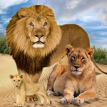 Jungle Kings Kingdom Lion Family  (Mod) 2.6