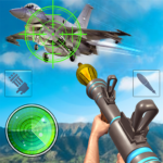 Sky war fighter jet: Airplane shooting Games  (Mod) 1.9