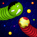 Snaky .io – Fun Multiplayer Slither Battle  (Mod)  5.4