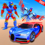 Sparrow Robot Car Games – Robot Transform Game  (Mod) 1.2