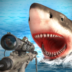 Survivor Sharks Game: Shooting Hunter Action Games  (Mod)