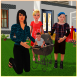 Virtual Single Mom Simulator: Family Mother Life  (Mod) 1.7