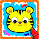 Animal Sounds for babies & Coloring book for kids  (Mod) 1.20