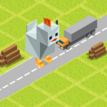 Cross Road: Cute Animals – Chicken Game  (Mod) 3.4