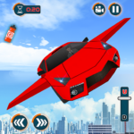Flying Car Shooting Games – Drive Modern Cars Game  (Mod) 1.7