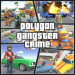 Grand City Theft War: Polygon Open World Crime  (Mod) 2.1.4