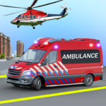 Heli Ambulance Simulator 2020: 3D Flying car games  (Mod) 2.21