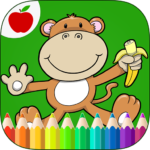 Jungle Animals Coloring Book  (Mod) 9