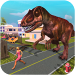 Monster Dinosaur Simulator: City Rampage  (Mod)  1.21