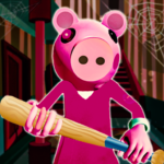 Piggy Family 3D: Scary Neighbor Obby House  Escape  (Mod) 1.4