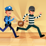 Robber Run – Cops and Robbers: Police Chasing Game  (Mod) 3.5