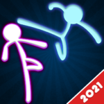 Stickman Fighting: 2 Player Funny Physics Games (Mod) 1.8