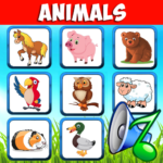 Animal sounds. Learn animals names for kids  (Mod)