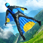 Base Jump Wing Suit Flying (Mod) 1.0