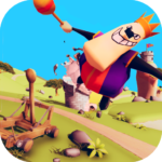 Catapult Shooter 3D💥: Revenge of the Angry King👑  (Mod)