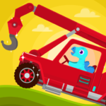 Dinosaur Rescue – Truck Games for kids & Toddlers  (Mod)