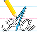 Kids Learn Cursive Writing – Cursive For Toddlers (Mod)