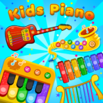 Kids Piano: Animal Sounds & musical Instruments (Mod)