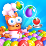 Kitten Games Bubble Shooter Cooking Game  (Mod) 1.3