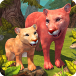 Mountain Lion Family Sim : Animal Simulator  (Mod)