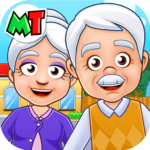 My Town : Grandparents Play home Fun Life Game  (Mod)