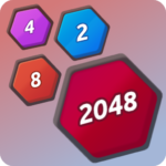 Number Merge 2048 – 2048 hexa puzzle Number Games  (Mod)