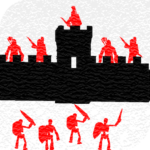 One on one: Siege of castles – Offline strategy (Mod)