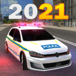 Police Car Game Simulation 2021  (Mod)
