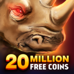 Rhino Fever: Free Slots & Hollywood Casino Games  (Mod)