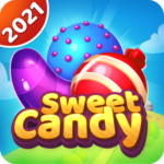 Sweet candy puzzle – Triple match games (Mod) 1.6