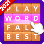 Word Fall – Brain training search word puzzle game  (Mod)