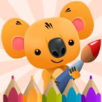 Сoloring Book for Kids with Koala  (Mod)