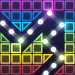 Bricks Breaker Hit – Glow Balls  (Mod)