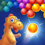 Bubble Shooter Primitive Dinosaurs – Egg Shoot  1.05 (Mod)