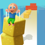 Cube Stack 3d: Fun Passing over Blocks and Surfing  (Mod)