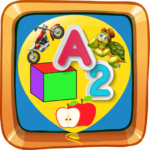 Educational Balloons: Alphabet Numbers Shapes  (Mod)