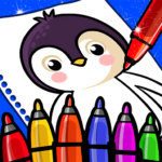 Happy Coloring Book Learn Paint : Coloring Games  (Mod)