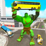 Incredible Monster City Hero Battle Mission 2021  (Mod)