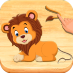 Jigsaw Puzzles For Kids – Animals Shapes  (Mod)