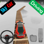 Sky Car Driving Stunt Impossible Track  (Mod)