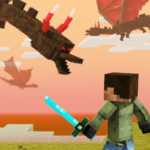Battle Craft – 3D Pixel World  (Mod)