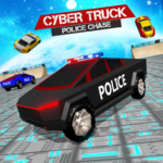 Border Patrol Cyber Truck Police Chase: Cop Games  (Mod)